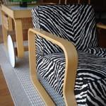 Alvar Aalto zebra easy chair