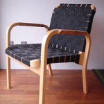 Alvar Aalto arm chair No.45