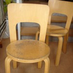 Aalto old chairs