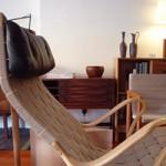 Pernilla chair&ottoman- Bruno Mathsson