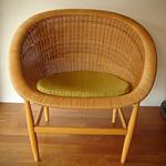 wicker chair - Nanna& Jorgen Ditzel 1950